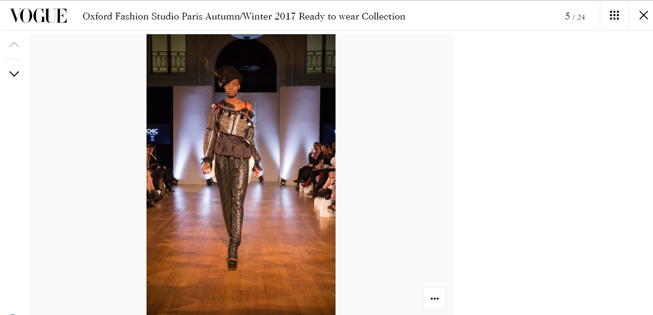 Oxford Fashion Studio Paris Autumn/Winter 2017 Ready to wear Collection